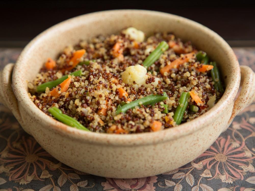 Quinoa and Vegetable Pulao