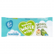Heavenly Baby Yummy Wafer Wisps, Teething Wafers, Apple, Spinach & Kale (1 case containing 14 x 14g packs)