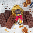 Navy Milk Chocolate Selection