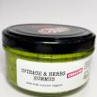 Spinach & herbs hummus