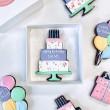 Birthday Cake Single Letterbox Cookie (Customisable)