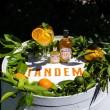 Tandem Irish spirit infused with the zest of Seville Oranges