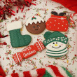 Personalised Christmas Biscuit Gift Set