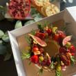 Baron Bigod Brie Christmas Wreath