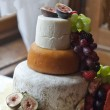3-Tier Farmhouse Cheese Wedding Cake