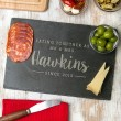 Personalised 'Eating Together Since' Slate Board