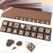 cocoapod chocolates for dad daddy grandad