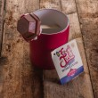 Fourth of July Hot Chocolate Sticks (5 pack)