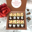 Personalised Message Love & Hearts Chocolates
