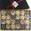 Milk & White Chocolate Christmas Penguins Gift Box