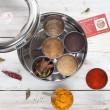 Indian Spice Tin Masala Dabba