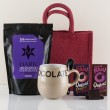 Organic Hot Chocolate Gift Bag from Natures Hampers