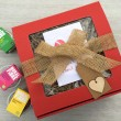 Big Red Healthy Gift Box
