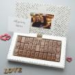 chocolate valentines card