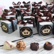 chocolate favour boxes