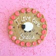 'I Love Ewe' Valentine Cookie