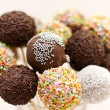 Rum Truffle and Coconut Cake Pops