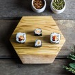Hexagon Olive Wood Chopping/Cheese Board