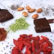 Cacao and Goji Matcha Bar
