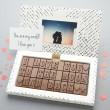 romantic chocolate greetings card