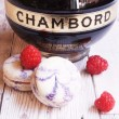 Box of Chambord Macarons
