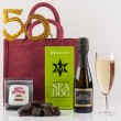 Happy 50th Birthday Gift Bag from Natures Hampers