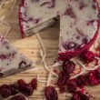 Cranberry Vegan Cashew Nut Cheese