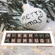 Bah Humbug Christmas Chocolates