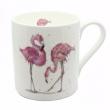 Flamingo Mug by Sarah Boddy