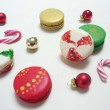 Alcoholic Christmas Macarons Box of 5