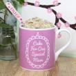 Mug cake for mum