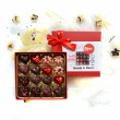 hearts and roses chocolate truffles