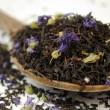 Afternoon Earl Grey Blue Flower Black Tea - Premium Loose Leaf Tea (100g)
