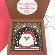 Christmas Chocolate with Santa with Personalised Message