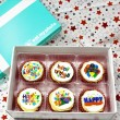 6 Birthday Cupcakes Gift Box