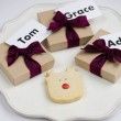 4 Christmas Reindeer Shortbread Stocking Fillers