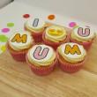 6 Mother's Day I Love u Mum Cupcakes Gift Box
