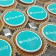 Filled Cupcakes with Logo