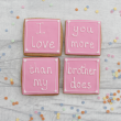 Mother's Day Cookie Gift - I Love You More Than My Brother Does