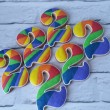 Rainbow Cookie Party Favours