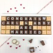 cocoapod personalised you are married chocolates