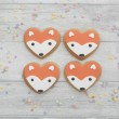 Fox Face Cookies