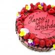 Raw Chocolate & Raspberry Cake