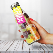 Vegan Fruit Jelly Gummies Bottle