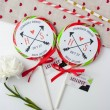 Personalised 'Initials' Giant Wedding Lollipops