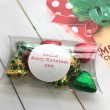 Cocoapod Pack of 12 Foiled Handmade Chocolate Hearts Christmas