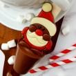 Santa Christmas Hot Chocolate Spoon