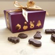 Dairy Free Milk Chocolate Festive Shapes