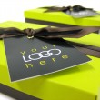Corporate Personalised Gift Box filled with handmade artisan chocolates