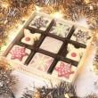 Chocolate Snowflakes and Reindeers
